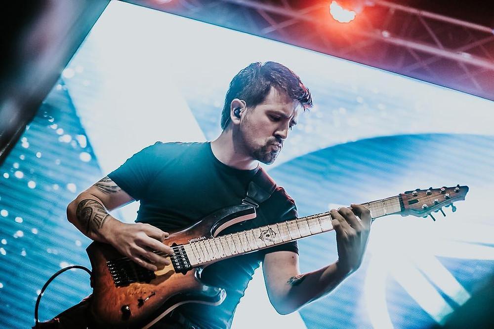 Benjamin Lechuga DELTA guitarist Vivaldi Metal Project 2