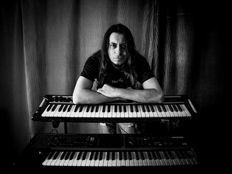 New Album Featured Artist - Keyboardist Bob Katsionis