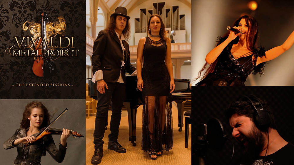 """Vivaldi Metal Project EP """"The Extended Sessions"""" first single"""