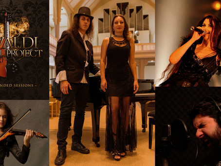 Vivaldi Metal Project EP The Extended Sessions first single