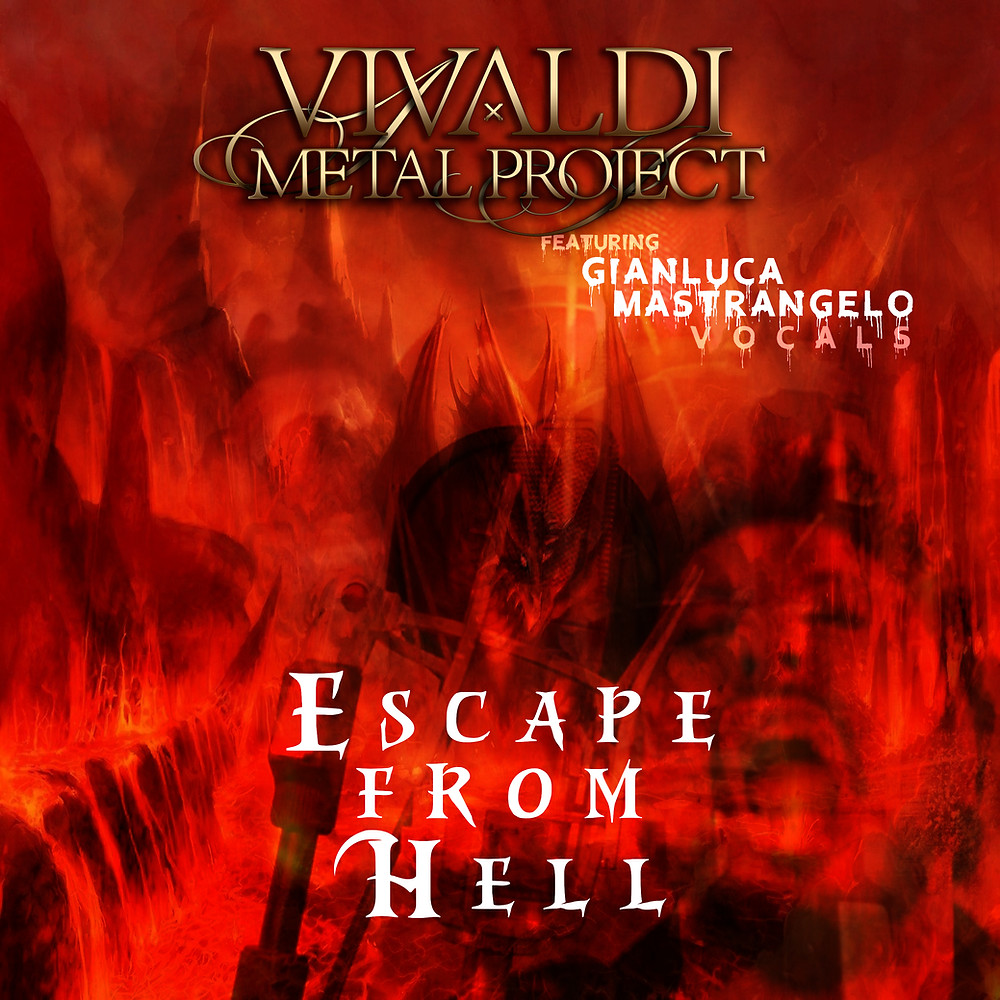 Vivaldi Metal Project - Gianluca Mastrangelo singer performs Escape From Hell