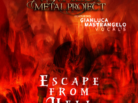 Gianluca Mastrangelo - 'Escape From Hell' now available as single on all major music platforms