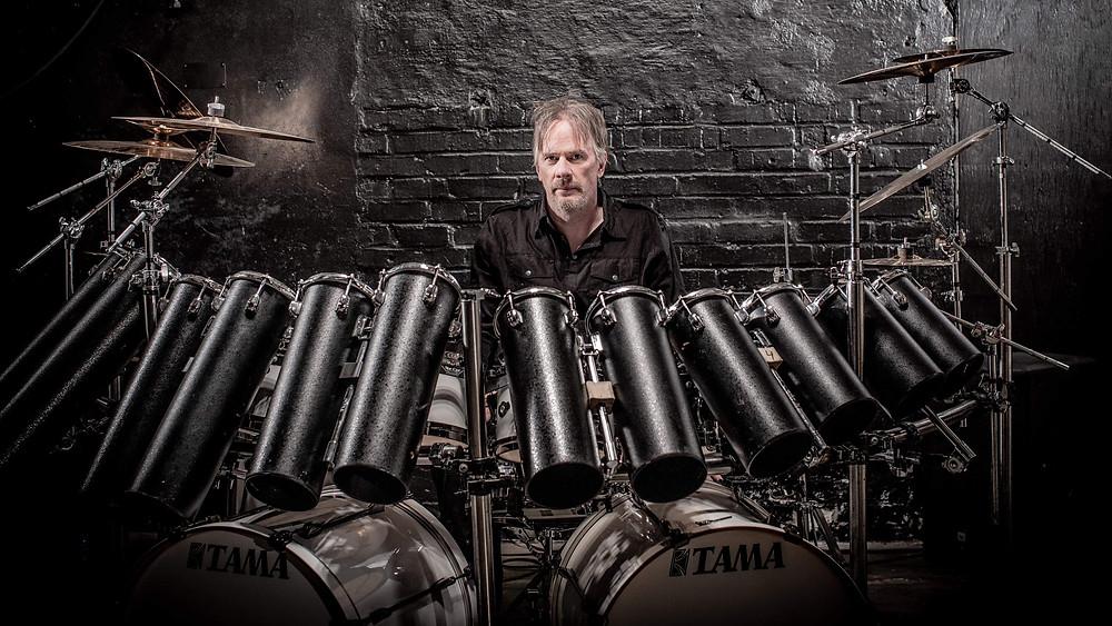 Anders Johansson drummer Vivaldi Metal Project