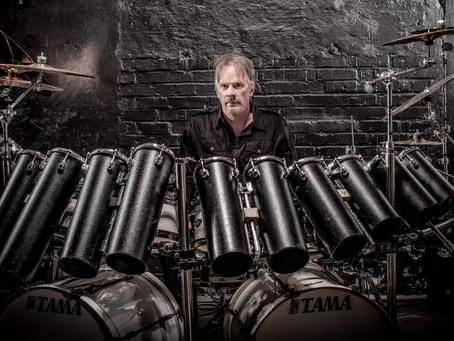 New Album Featured Artist - Drummer Anders Johansson