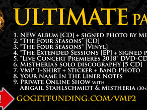 New Studio Album - ULTIMATE package available in our crowdfunding campaign