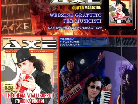 Axe Guitar Magazine - Interview to keyboardists Mistheria, Bob Katsionis, Vitalij Kuprij
