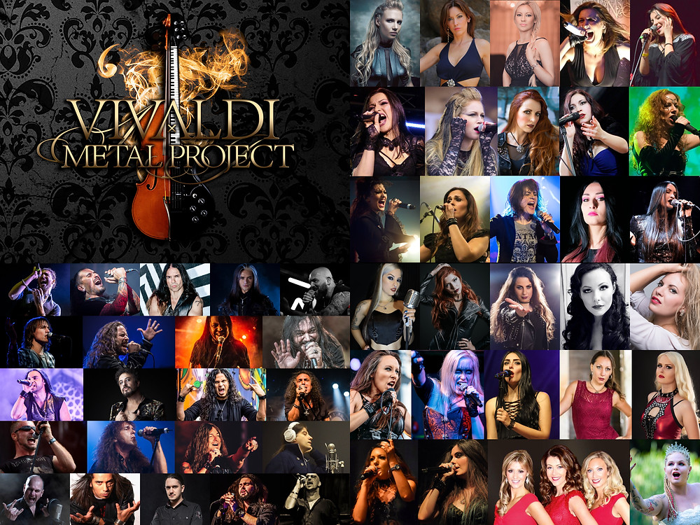 Singers and Vocalists Vivaldi Metal Project 2