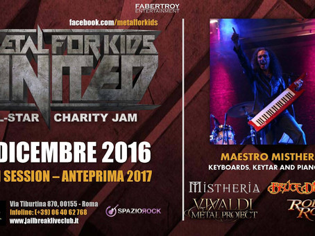 Special guest at 'Metal for Kids / Jam' preview 2017 edition