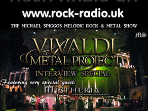 The Michael Spiggos Melodic Rock Show featuring Mistheria from Vivaldi Metal Project (Mixcloud)