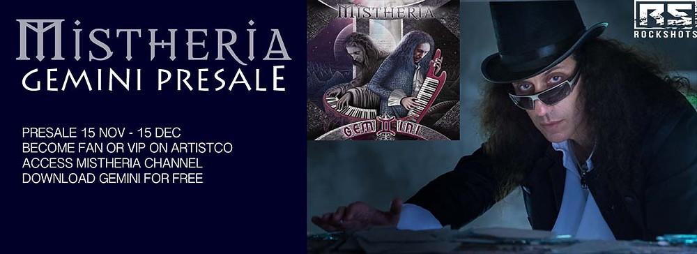 Mistheria GEMINI album on Artistco