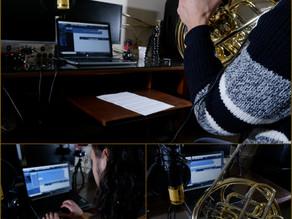 New Album Featured Artist - French Horn Player Cristian Quarta