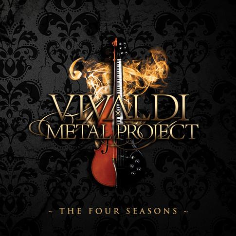 Vivaldi Metal Project EpiClassica album cover by Nello Dell'Omo