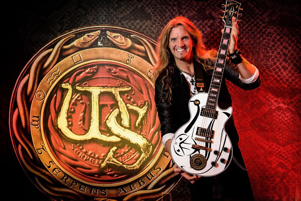 Joel Hoekstra guitar guest Vivaldi Metal Project