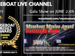 Museboat Live Channel Musies Summer 2021 Award