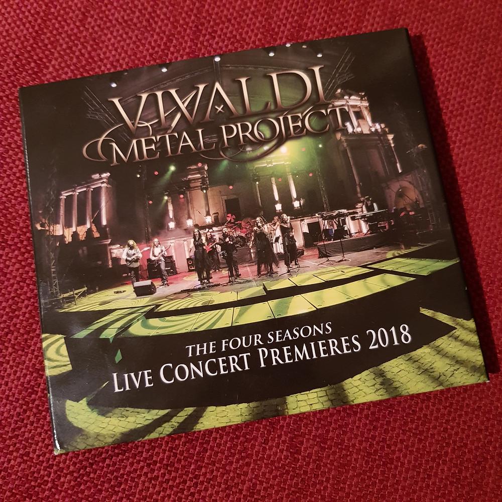 Live Concert Premieres 2018 DVD package