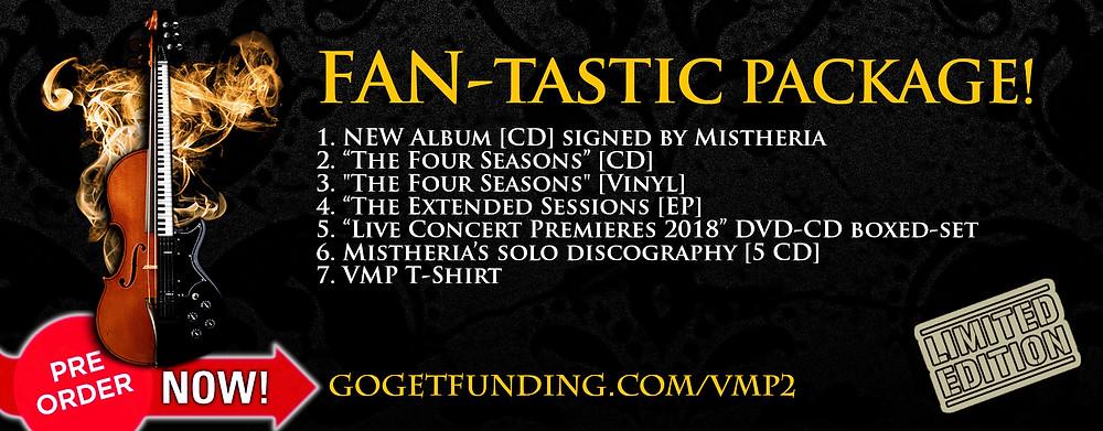 Vivaldi Metal Project new studio album GoGetFunding