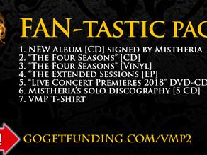 Vivaldi Metal Project - New Studio Album FAN-tastic pack