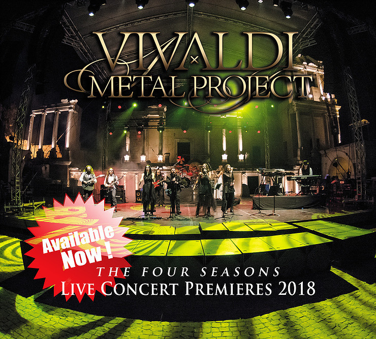 Vivaldi Metal Project - Live Concert Premieres 2018 OUT NOW!