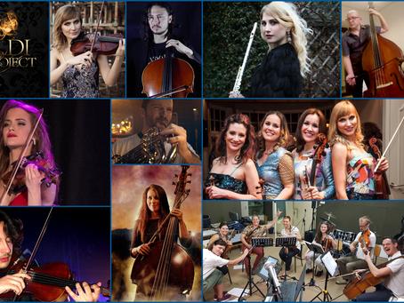 Vivaldi Metal Project 2nd Studio Album Featured Classical Soloists