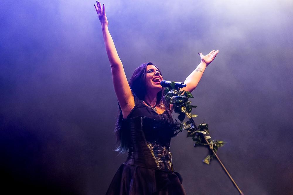 Ida Elena De Razza singer Vivaldi Metal Project 2