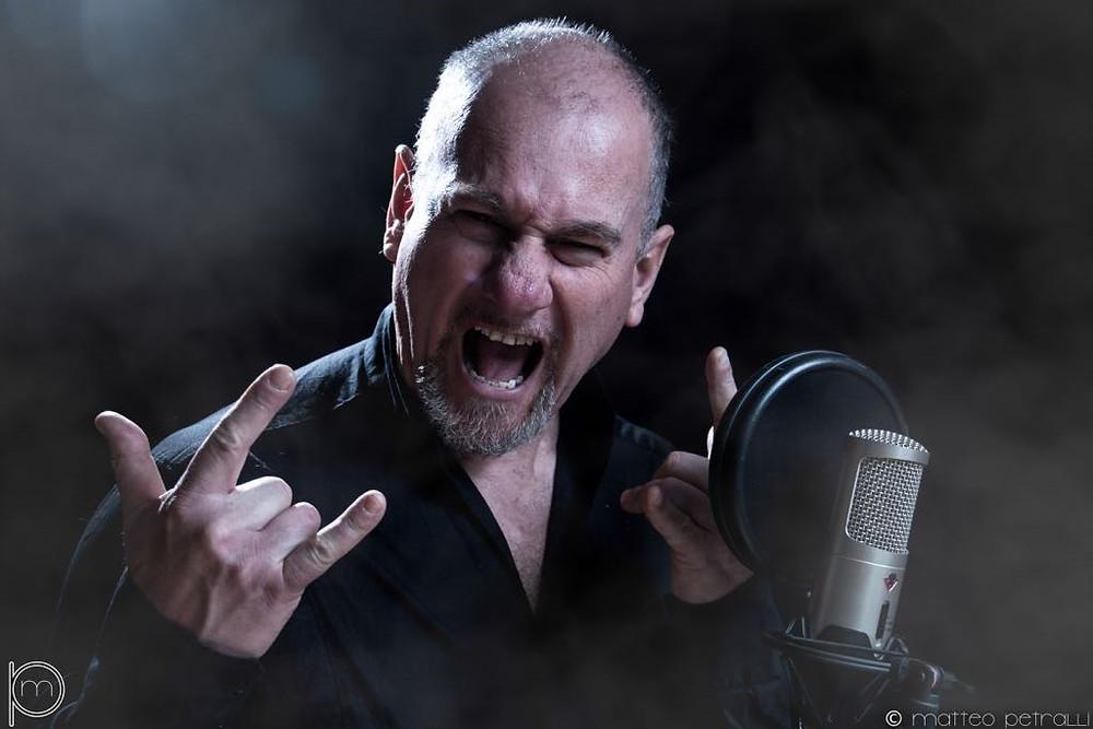 Riccardo Cecchi operatic singer Vivaldi Metal Project 2