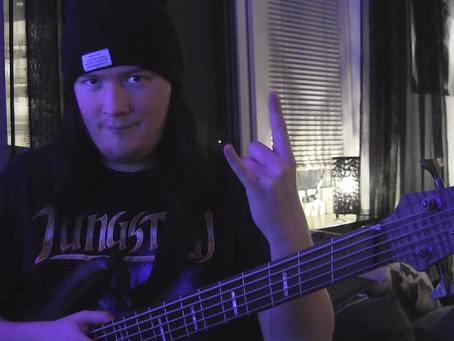 New Album Featured Artist - Bassist Kalle Johansson