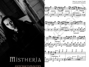 Vivaldi's 'The Four Seasons' on Piano by Mistheria now available as digital sheet music
