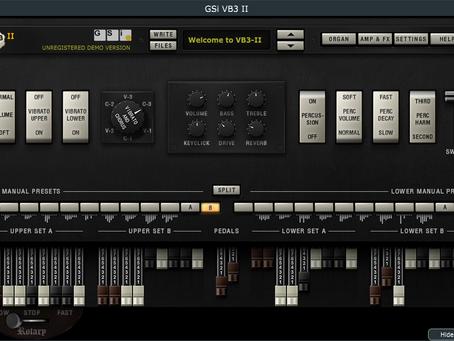 GSi VB3-II Tonewheel Organ Simulator features factory presets by Mistheria