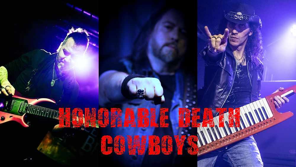 Honorable Death Cowboys featuring Max Aguzzi, Francesco Corapi, Mistheria