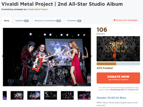 Crowdfunding Campaign - Pre-Order and Support Our 2nd Studio Album!