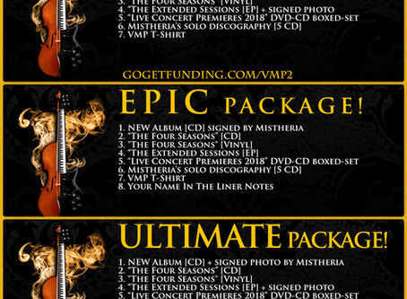 New Album Exclusive Prize Packages Available