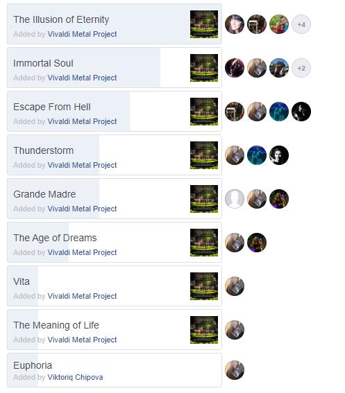 Vivaldi Metal Project vote your video single