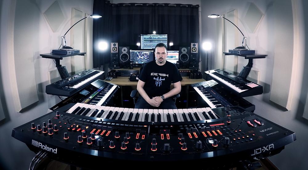 Alex Argento keyboardist Vivaldi Metal Project 2