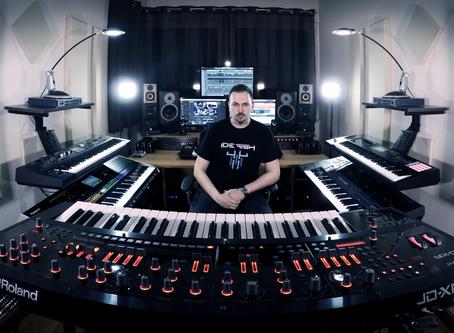 New Album Featured Artist - Keyboardist Alex Argento