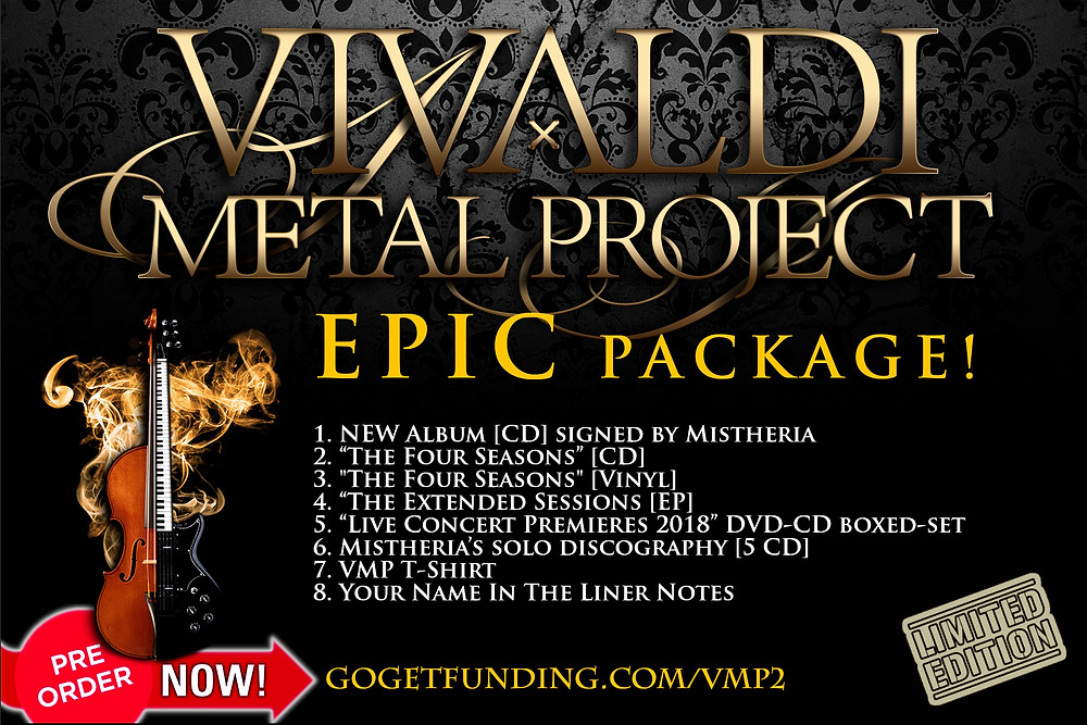 Vivaldi Metal project EPIC package crowdfunding campaign on GoGetFunding