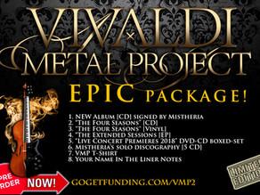 Vivaldi Metal Project - New Studio Album EPIC pack