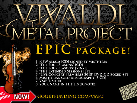 Vivaldi Metal Project - New Studio Album EPIC pack