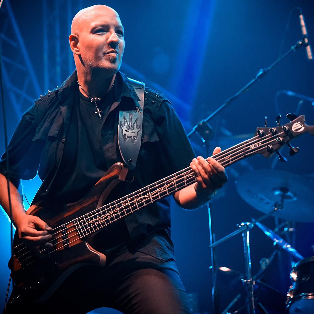 Massimiliano Flak Soundstorm bassist Vivaldi Metal Project 2