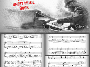 Dreams album Piano sheet music book now available