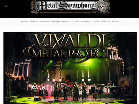 New interview at Metal Symphony website