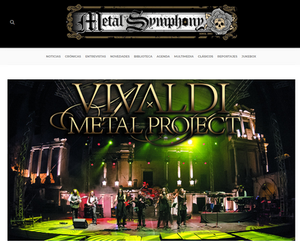 Mistheria of Vivaldi Metal Project New interview at Metal Symphony website