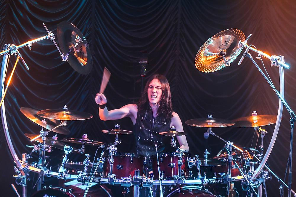 Yosuke Yamada drums Vivaldi Metal Project 2