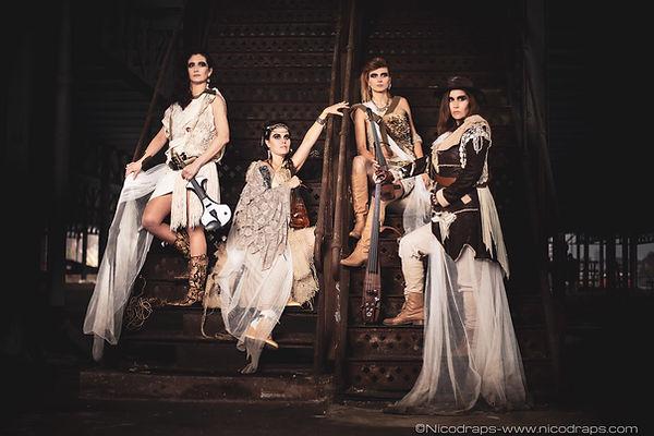 Wild Queens string quartet Vivaldi Metal