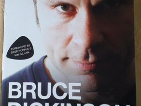 Bruce Dickinson - Maiden Voyage - The biography by Joe Shooman