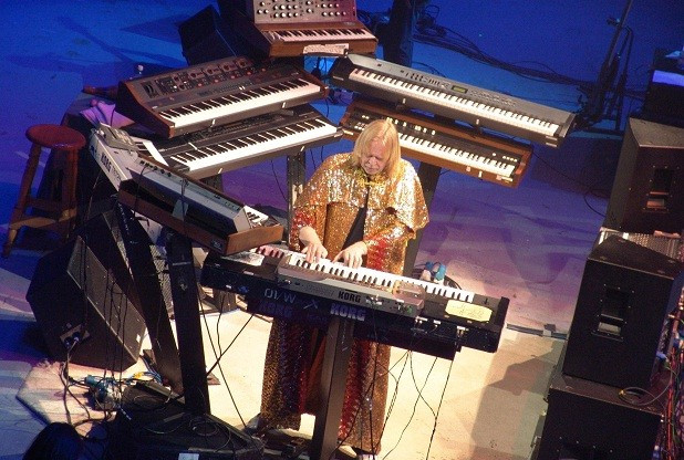 Rick Wakeman live on stage
