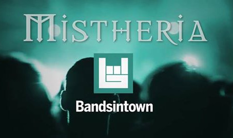 Bandsintown live tracking page