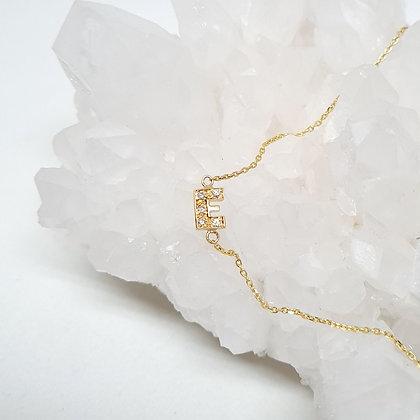 Monogram E Necklace