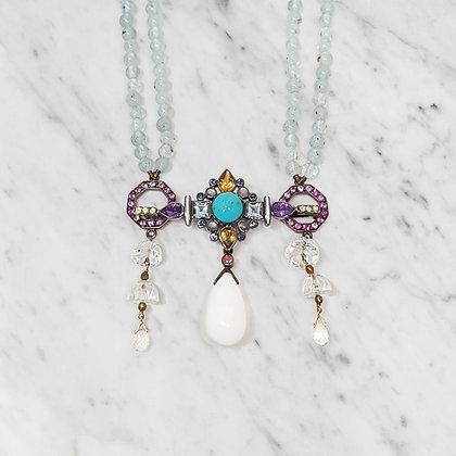 Labradorite Drop Necklace