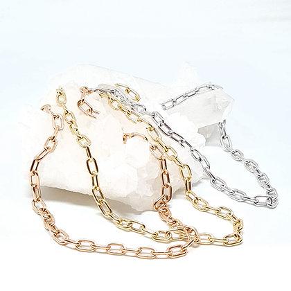 Oval Link Chain Bracelets
