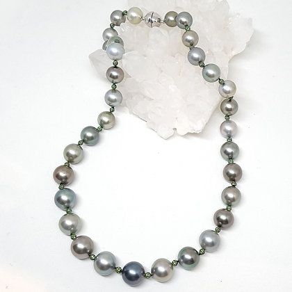 Gray Tahitian South Sea Pearl Necklace
